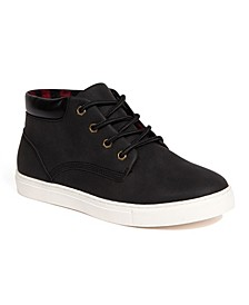 Little Boys Warren Jr Classic Comfort Dress Sneaker Boots