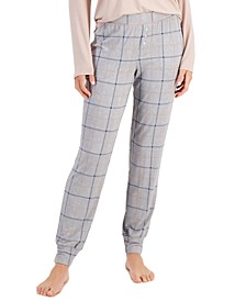 Essentials Ultra-Soft Knit Jogger Pajama Pants, Created for Macy's