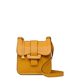 Women's Medium Flap Over Crossbody Handbag