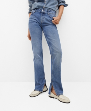 Women's Straight Opening Jeans