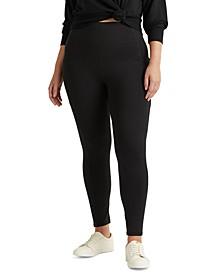 Plus-Size Stretch Jersey Legging
