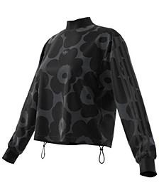 Women's Cotton Marimekko Sweatshirt