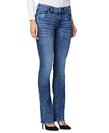 Beth Mid-Rise Baby Bootcut Denim Jeans