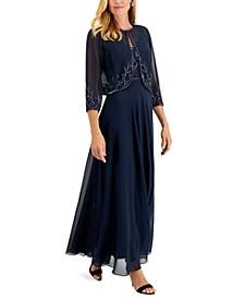 Embellished Gown & Jacket