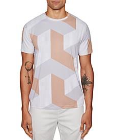 Men's Geometric Graphic T-Shirt