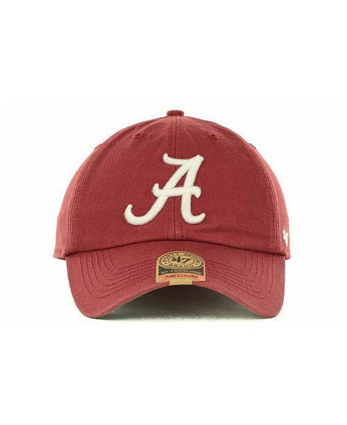 official photos 5eddd b7edd ...  47 Brand Alabama Crimson Tide Franchise Cap    ...