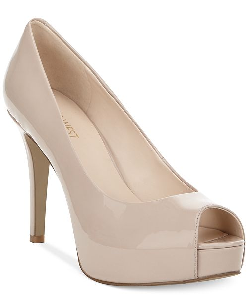 Nine West Camya Platform Pumps