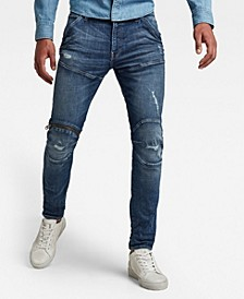 Men's 5620 3D Zip Knee Skinny Jeans