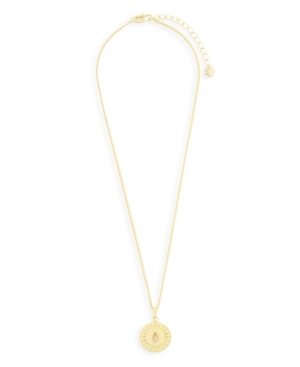 Talulla 14K Gold Plated Coin Pendant Necklace