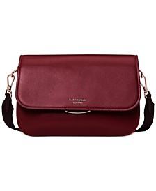 Buddie Colorblocked Leather Shoulder Bag