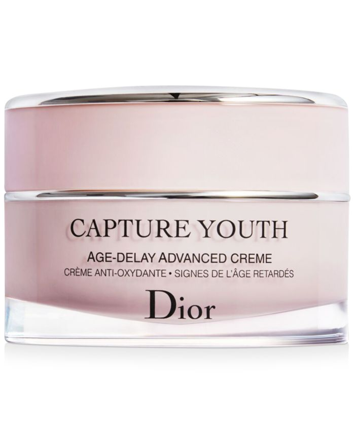 Dior Capture Youth Age-Delay Advanced Creme & Reviews - Skin Care - Beauty - Macy's