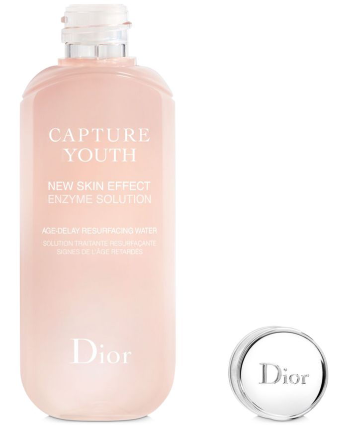 Dior Capture Youth New Skin Effect Enzyme Solution Age-Delay Resurfacing Water & Reviews - Skin Care - Beauty - Macy's