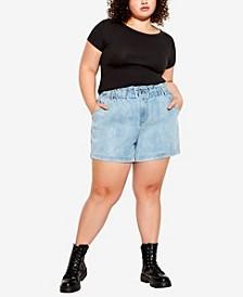 Plus Size Hannah Shorts