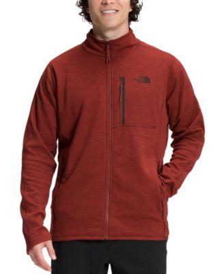 노스페이스 맨 플리스 집업 맨투맨 The North Face Mens Canyonlands Standard-Fit Full-Zip Fleece Sweatshirt,Brick Hous