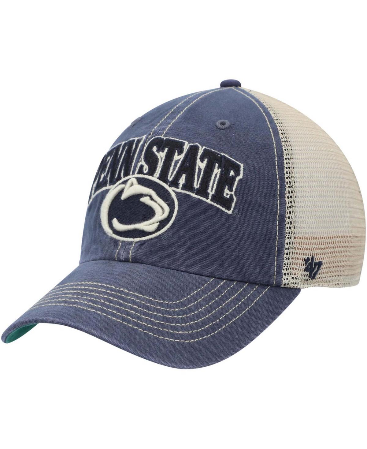 47 Brand Mens Penn State Nittany Lions Tuscaloosa Trucker Snapback Hat