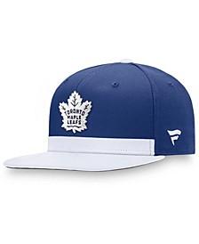 Branded Men's Royal/White Toronto Maple Leafs Pro Locker Room Snapback Hat