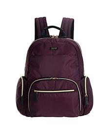"Sophie Women's Silky Nylon 15"" Laptop & Tablet Anti-Theft RFID Backpack"