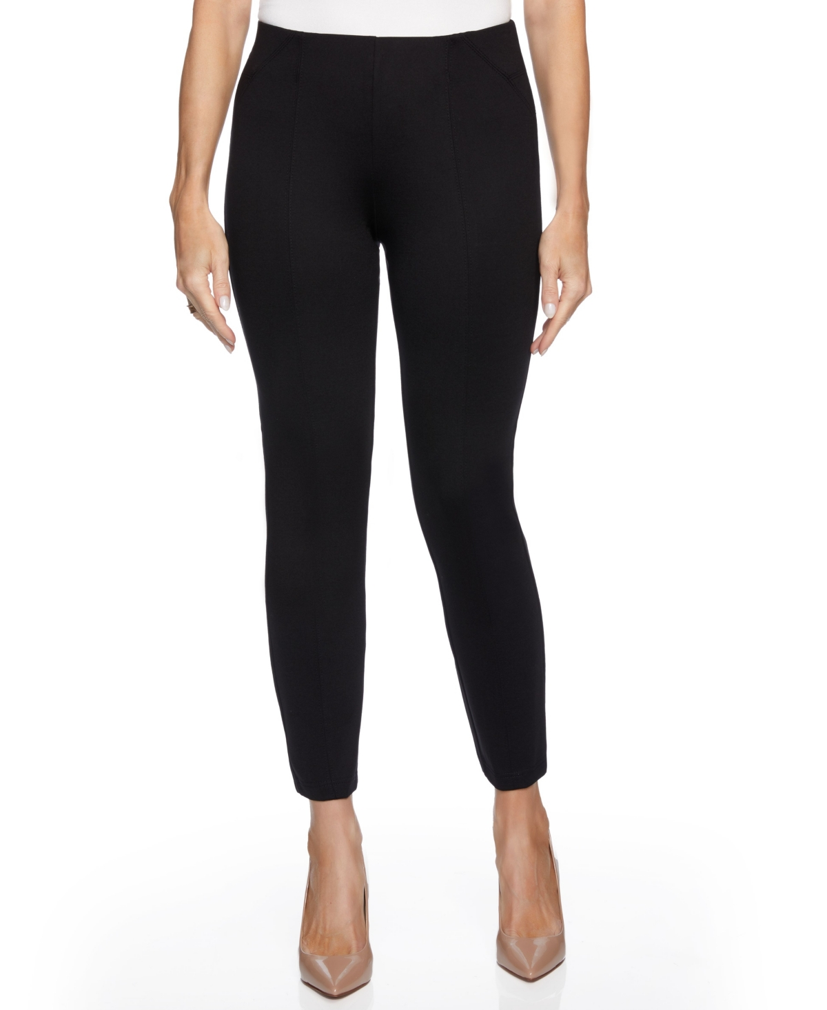 Women's Slim Leg with Seaming on Front Back Pants