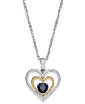 Gemstone Heart Pendant...