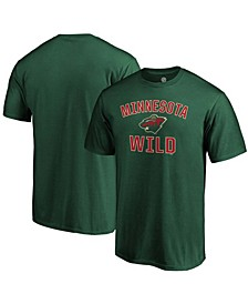 Men's Green Minnesota Wild Team Victory Arch T-shirt