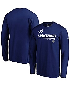 Men's Blue Tampa Bay Lightning Authentic Pro Core Collection Prime Long Sleeve T-shirt
