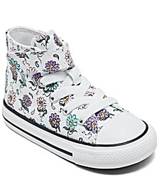 Toddler Girls Chuck Taylor All Star Friendly Flowers Stay-Put Closure High Top Casual Sneakers from Finish Line