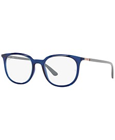 RX7190 Unisex Square Eyeglasses