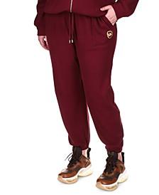 Plus Size Drawstring Jogging Pants