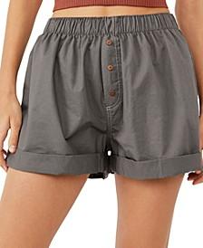 Cotton Sunday Morning Boxer Shorts