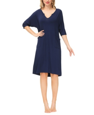 Ink+Ivy Women's Dolman Sleeve Dress with Side Patch Pockets