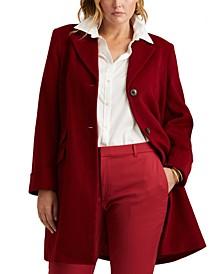 Plus Size Walker Coat, Created for Macy's