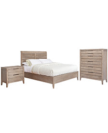 Kips Bay 3-Piece Set, Created for Macy's,  (Queen Bed, Nightstand & Chest)