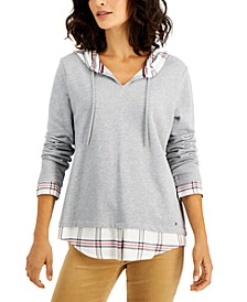 Two-For-One Hooded Top