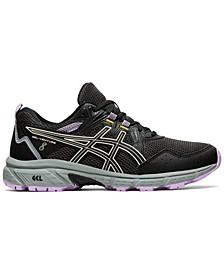 Women's Gel-Venture 8 Wide Width Trail Running Sneakers from Finish Line