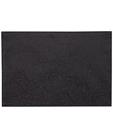 Waterford Chelsea Black Placemat