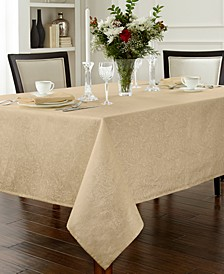 "Chelsea 70"" x 84"" Gold Tablecloth"