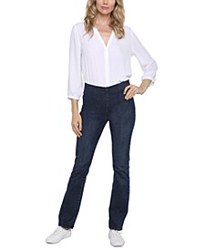 Slim-Fit Bootcut Pull-On Jeans