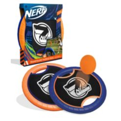Nerf Trampoline Paddle Ball and Frisbee Set