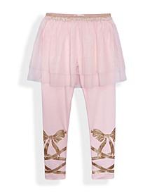 Little Girls Ballet Tutu Skirt Leggings