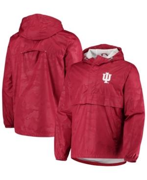 Men's Crimson Indiana Hoosiers High Impact Hoodie Half-Zip Jacket