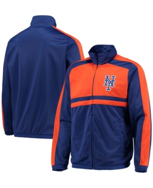 Men's Royal New York Mets Full-Zip Track Jacket