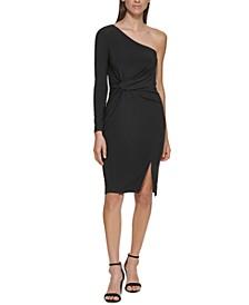 One-Shoulder Sheath Dress