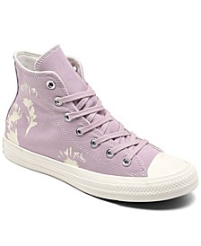 Women's Chuck Taylor All Star Hybrid Floral Platform High Top Casual Sneakers from Finish Line