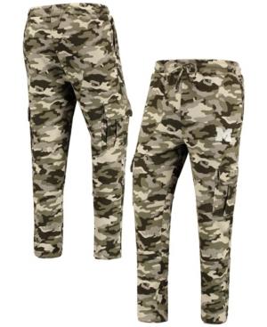 Men's Camo Michigan Wolverines Oht Military-Inspired Appreciation Code Fleece Pants