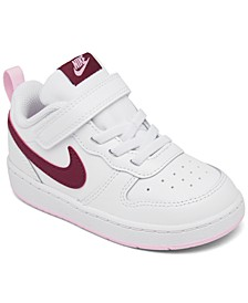 Toddler Girls Court Borough Low 2 Stay-Put Closure Casual Sneakers from Finish Line