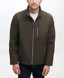 Men's Soft-Shell Zip Front Jacket