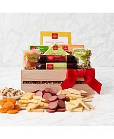 Holiday Charcuterie & Snacks Gift Crate