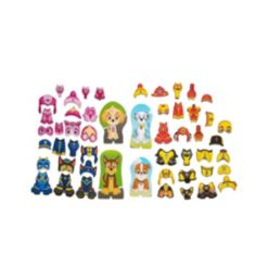 Melissa and Doug Paw Patrol Magnetic Pretend Play, Set of 64