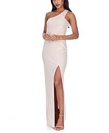 Women's Asymmetric Maxi Dress