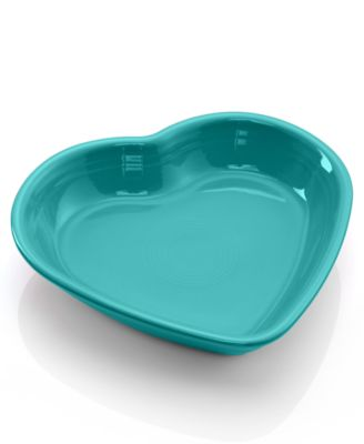 Turqouise Medium Heart Bowl